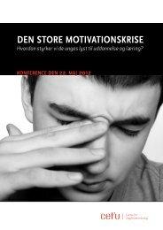 DEN STORE MOTIVATIONSKRISE