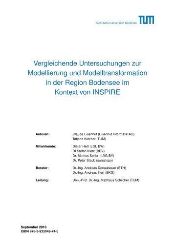 Vergleichende Untersuchungen zur Modellierung - Eisenhut ...