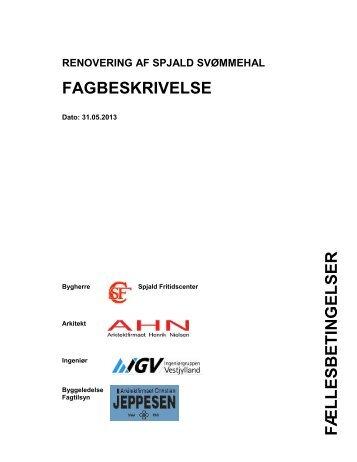 Spjald Fritidscenter - Arkitektfirmaet Henrik Nielsen