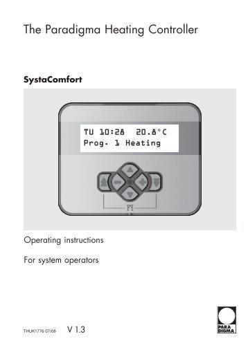 The Paradigma Heating Controller - Paradigma Benelux