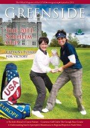 Size 9.41 MB - Golf Course Superintendents Association of Ireland