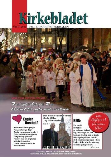 Kirkebladet nr 6.2012.pdf - Kirkelig fellesråd i Oslo