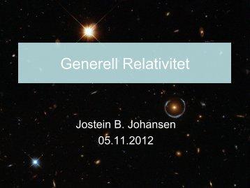 Generell Relativitet