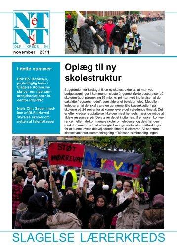 NetNyt nov 11.p65 - Aktuelt fra Slagelse Lærerkreds