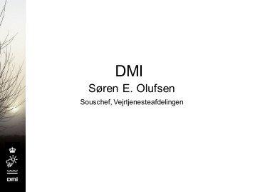 TEMA 2 Indlæg ved DMI - Forum for Samfundets Beredskab