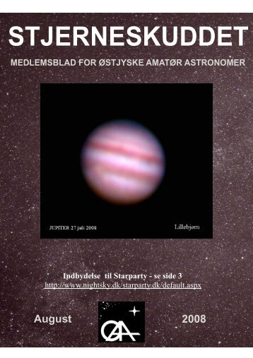2008-8 skærm.ppp - Østjyske Amatør Astronomer