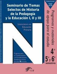 Programas y materiales de apoyo para el estudio - Escuela Normal ...