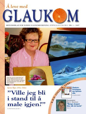 Nr. 1, 2007 - Norsk Glaukomforening