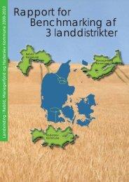 Rapport for Benchmarking af 3 landdistrikter - Velkommen til ...