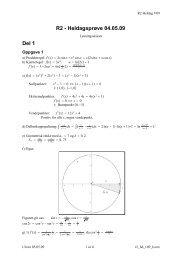 R2 - Heldagsprøve 04.05.09 Del 1