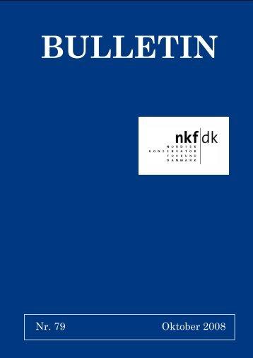 Nr. 79 Oktober 2008 - Nordisk Konservatorforbund Danmark