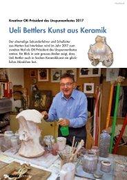 """Stubete"" Ausgabe Februar / März 2013 - Ueli Bettler"
