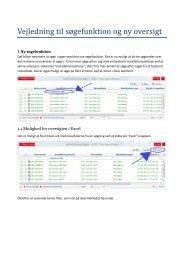 Vejledning til søgefunktion og ny oversigt - DE - Installations blanket