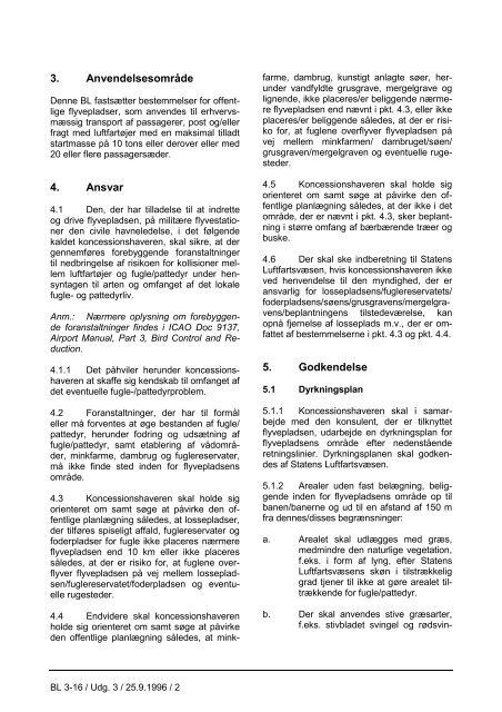 BL 3-16, 4. udgave af 31. januar 2005