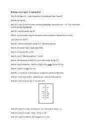 Retteliste - Alt er kjemi - Universitetsforlaget