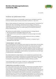 brevet som er sendt de norske landbruks-, mat ... - Norges Bondelag