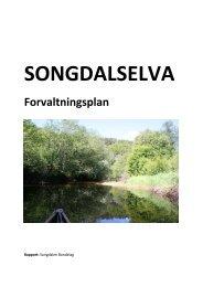 Songdalselva - forvaltningsplan - Songdalen kommune