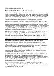 Tillæg til beskæftigelsesplan 2013 Ministerens ... - Rebild Kommune