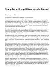 Professor Jens Peter Christensens artikel - SEnyt