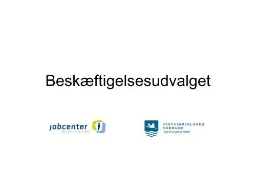 Beskæftigelse - Vesthimmerlands Kommune