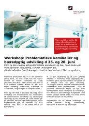 Problematiske kemikalier og bæredygtig udvikling_Program