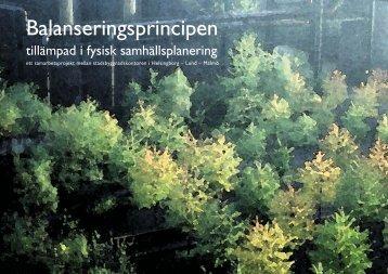 Balanseringsprincipen - slutdokument - Lunds kommun