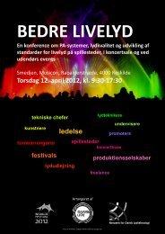 Torsdag 12. april 2012, kl. 9:30-17:30 ledelse - Dansk Live