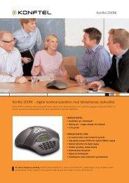 Konftel 200NI – digital konferansetelefon med førsteklasses ...