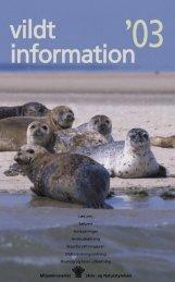 Vildtinformation 2003 - Naturstyrelsen