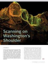 Scanning on Washington's Shoulder