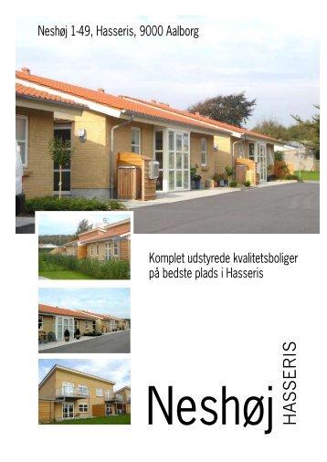 og download Informations Brochuren for Neshøj bebyggelsen