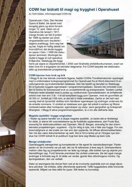 Operahuset (pdf) - Cowi