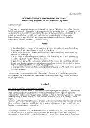 Lærervejledning med supplerende billede- og lydmateriale (pdf)