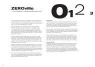 ZEROville - EN INTERAKTIV BYABSTRAKTION