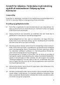 Forskrift for miljøkrav i forbindelse med indretning og drift af ... - Page 3