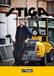 Stiga Pro Brochure 2012 - Maskin Service Nord A/S