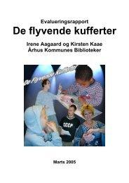 De flyvende kufferter. Århus 2003/04 - Kulturstyrelsen