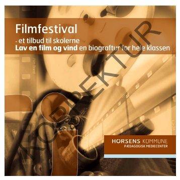 Folder om filmfestival - Torstedskolen - Horsens Kommune