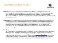 KMØ status 2012