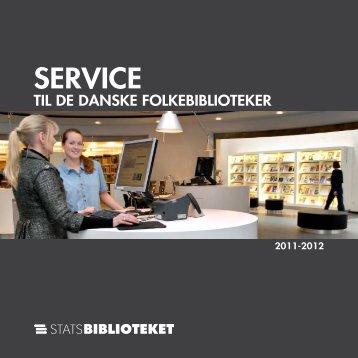 SERVICE - Statsbiblioteket