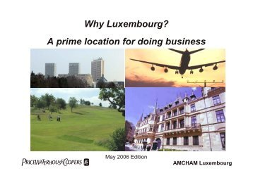 Why Luxembourg? A prime location for doing business - Visual Online