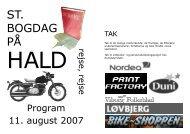 Program St. Bogdag 2007 - Det Danske Forfatter- og ...