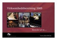 Virksomhedsberetning 2005 - Odense Centralbibliotek