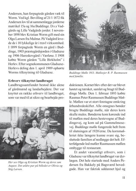Voksnes vilkår fra ca. 1800 til 1950 - Gladsaxe Kommune