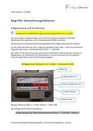 Begriffe/ Umrechnungsfaktoren - Erdgas Obersee AG