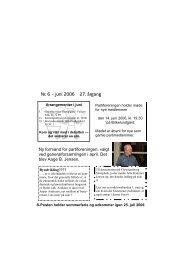 S Posten juni 2006 - Socialdemokraterne Albertslund