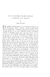 John Nielsen: De danske farvande i fred og krig, s. 91-122