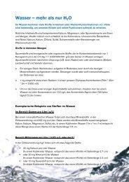 PDF: Spurenstoffe - SVGW