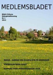 Medlemsblad nr. 1-2012.pdf - Blidö-Frötuna skärgårdsförening