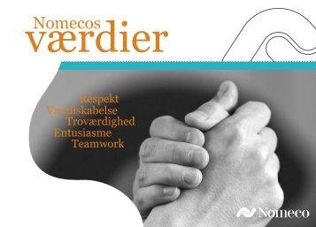 Nomecos værdier (PDF)